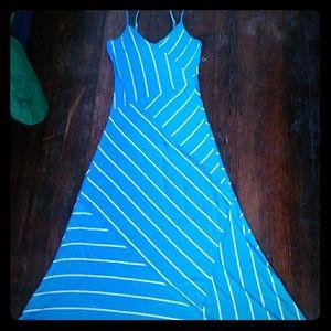 Ellen Tracy Flowing Maxi Dress